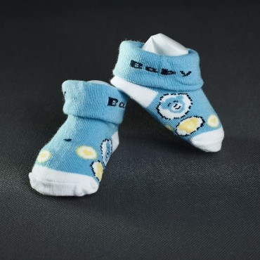 Dojčenské papučky: modré