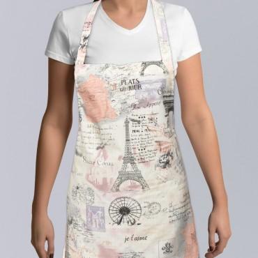 Zástera Paris s vlastným motívom