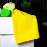 Bavlnený uterák žltej farby