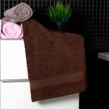 Bavlnený uterák čokoládovej farby