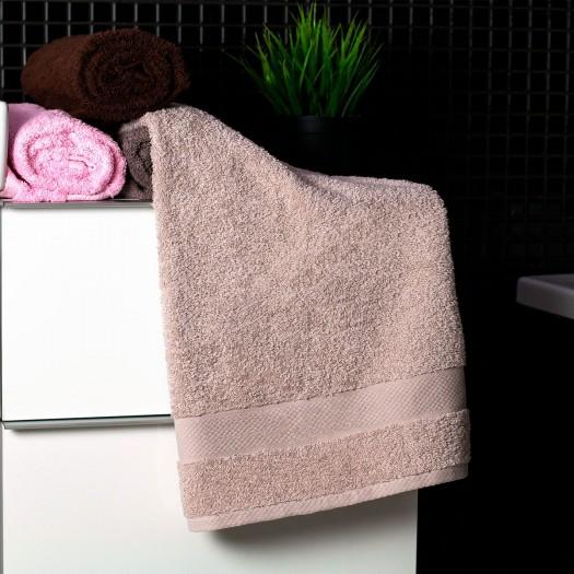 Bavlnený uterák béžovej farby