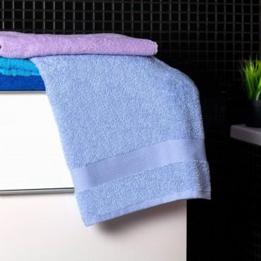Ajoss Bavlnená osuška svetlo-modrej farby 140 x70cm