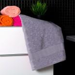 Bavlnený uterák sivej farby