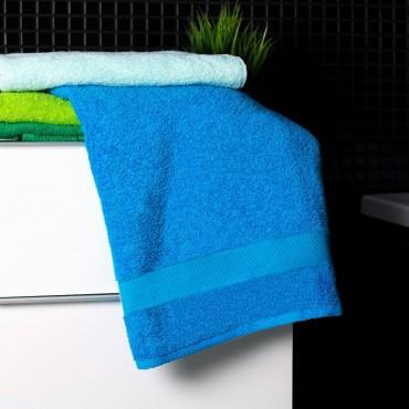 Ajoss Bavlnená osuška bledo-modrej farby 140x70cm