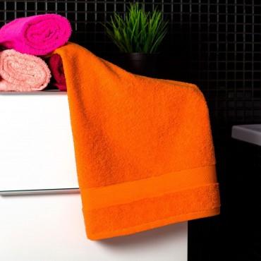 Ajoss Bavlnený uterák pastelovo-oranžovej farby 100x50cm