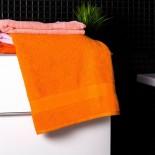 Bavlnená osuška pastelovo oranžová