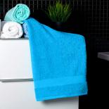 Bavlnený uterák bielej farby
